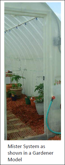 Double Sided Misting System